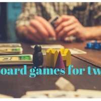 Board games for two humans