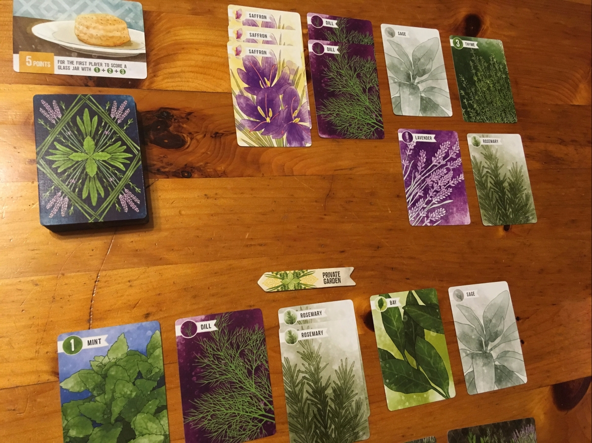 Board in the Stacks: Herbaceous