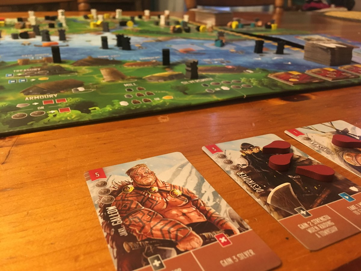 Board in the Stacks: Raiders of the North Sea